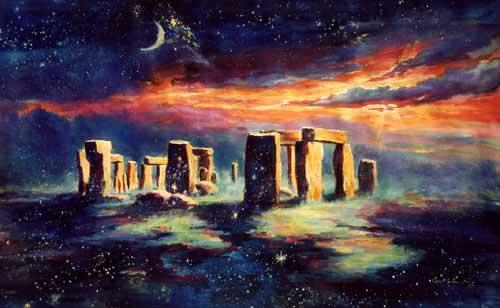 [Angleterre] Ce ne sont que de vieilles pierres, n'est-ce pas ? [PV Fate] Stonehenge-pop